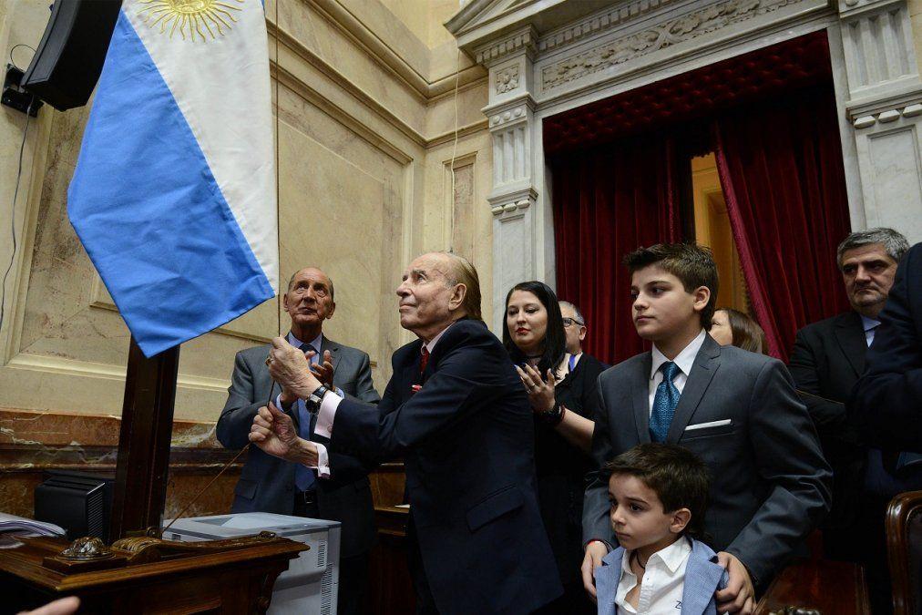 El diputado Gioja recordó a Menem: Tuvo una vida dedicada a la política