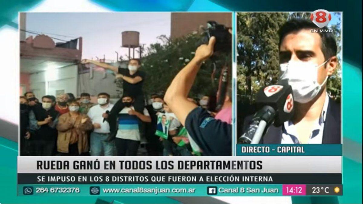 Luis Rueda en diálogo con Noticiero 8.E