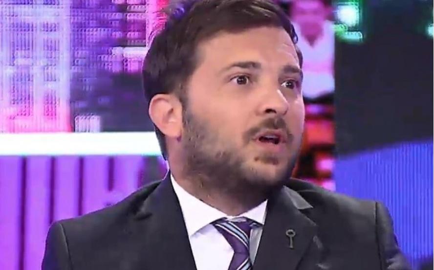 Internaron al periodista Diego Brancatelli