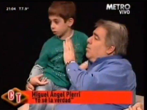 El hijo de Pierri culpó a Mangeri en televisión por el asesinato de Ángeles