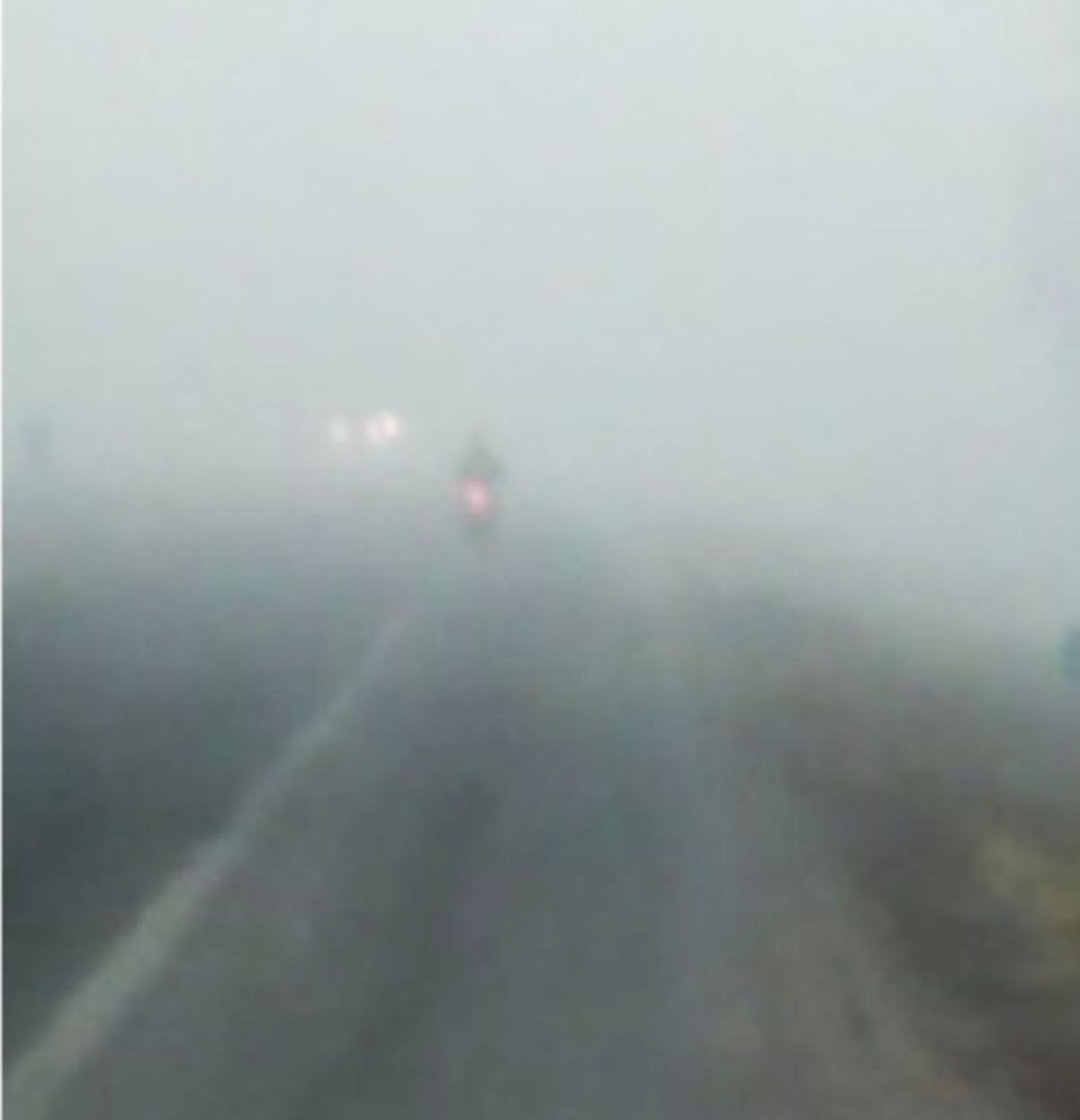 Niebla en San Juan