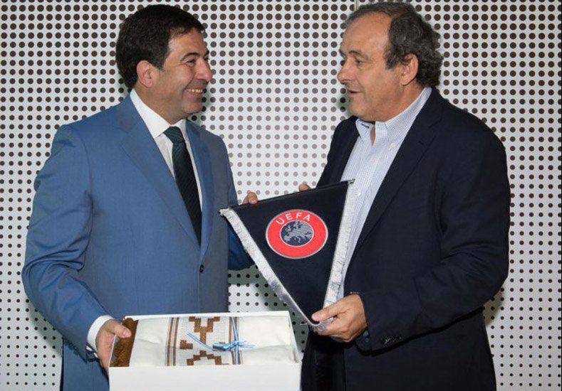 La UEFA trabajará con la AFIP para buscar dar transparencia al mercado de pases