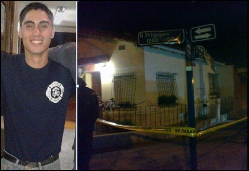 Mataron a un bombero voluntario en un intento de robo