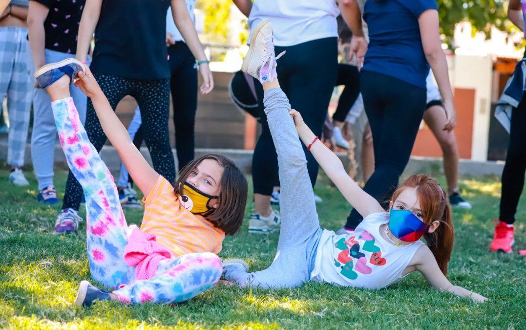 Capital: los chicos se mueven y aprenden al aire libre