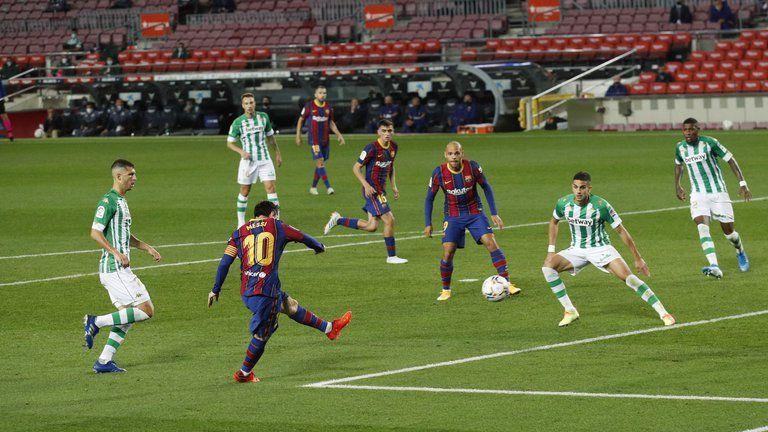 Barcelona ganó y Messi convirtió dos goles