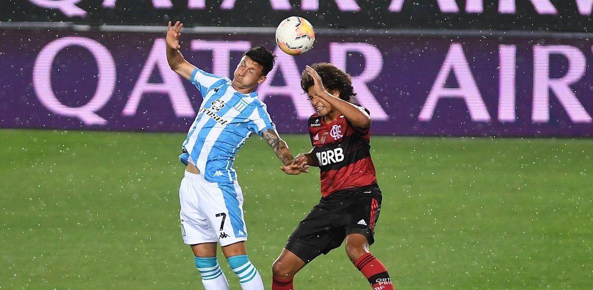 Libertadores: Racing empató con Flamengo y definirá el pase en el Maracaná.