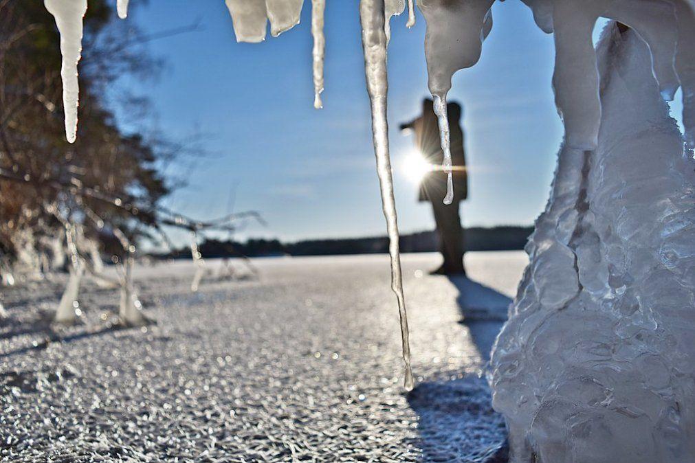 Cuatro personas murieron al quebrarse la superficie un lago congelado