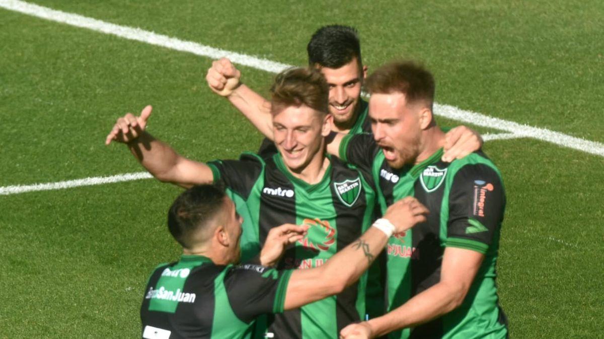San Martín derrotó 1 a 0 a Defensores de Belgrano.