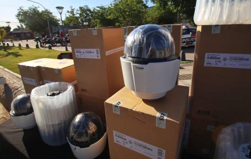 Instalarán 25 nuevas cámaras de monitoreo para reforzar la seguridad en Chimbas