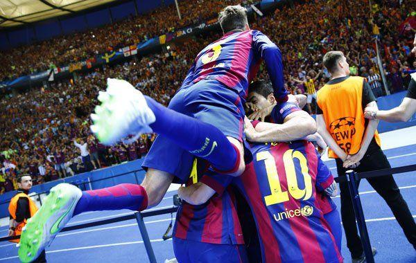 El Barcelona de Messi le ganó a la Juventus de Tevez y se convirtió en el rey de la Champions