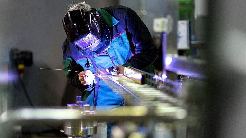 El uso de la capacidad instalada de la industria fue de 46,4% en mayo