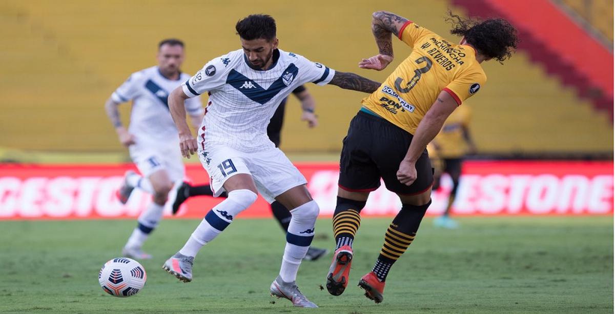Vélez perdió en Ecuador y quedó eliminado de la Libertadores