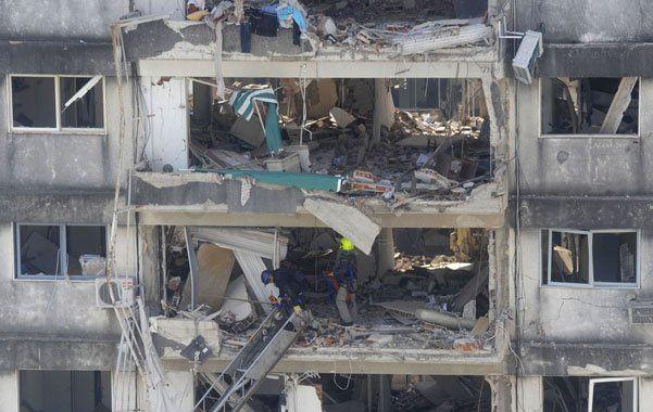 Tras la explosión, en la cuadra del desastre hay 238 viviendas muy dañadas