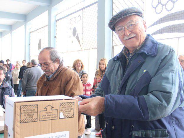 """Los ancianos contaron que sienten el """"deber moral"""" de ir a votar"""