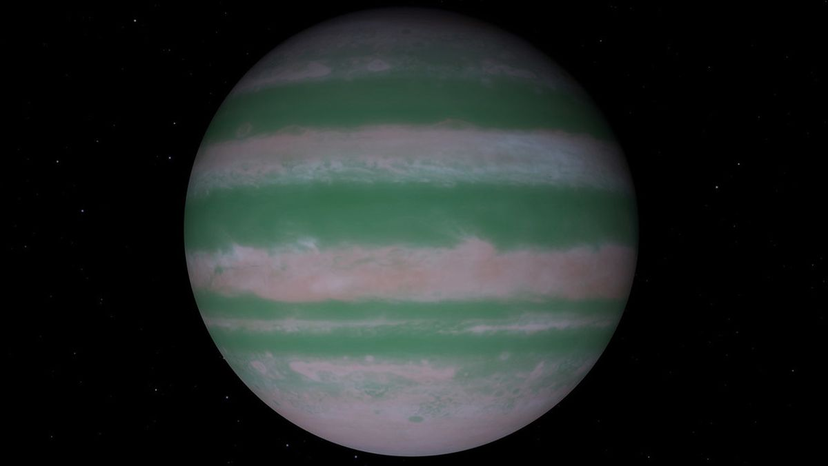 Detectaron un isótopo en la atmósfera de un exoplaneta