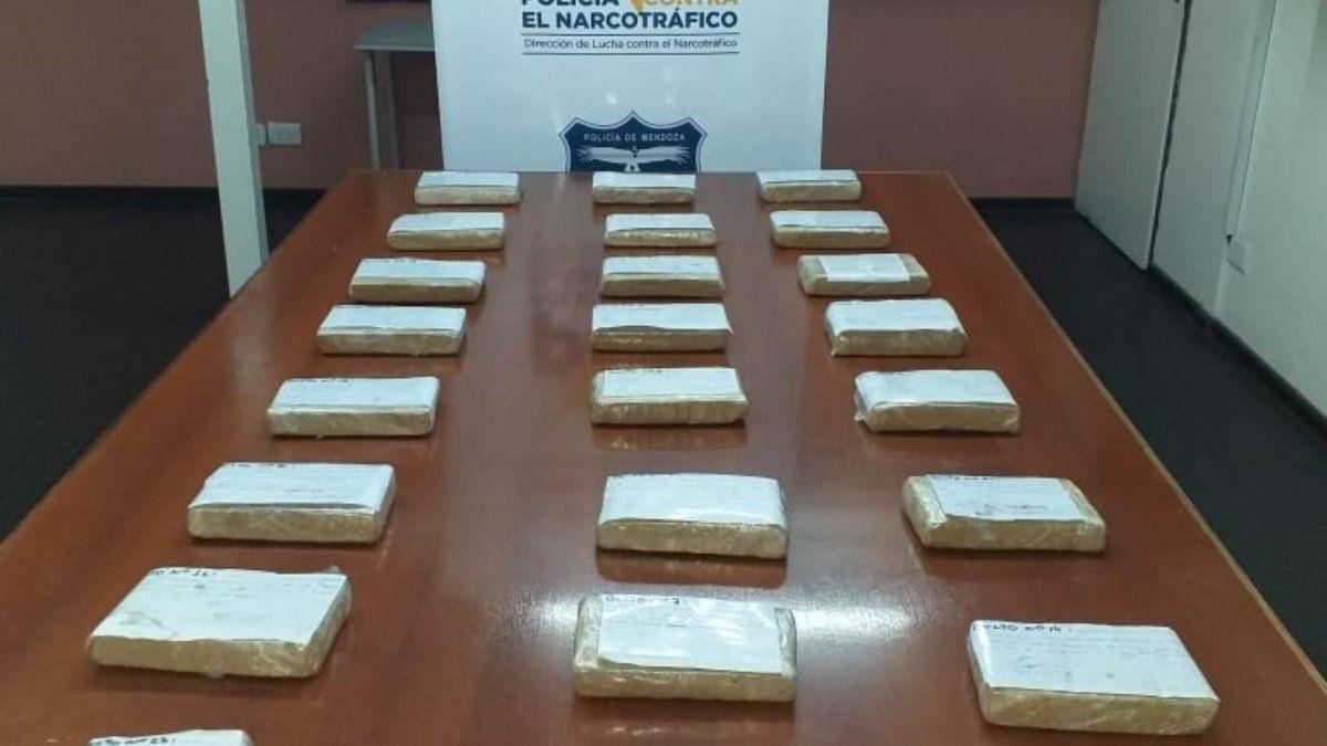 Detalles del histórico secuestro de 190 kilos de marihuana y sus detenidos