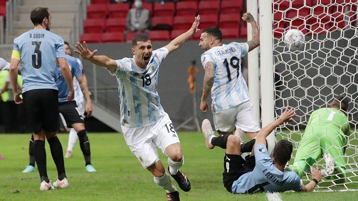 Con gol de Guido Rodríguez