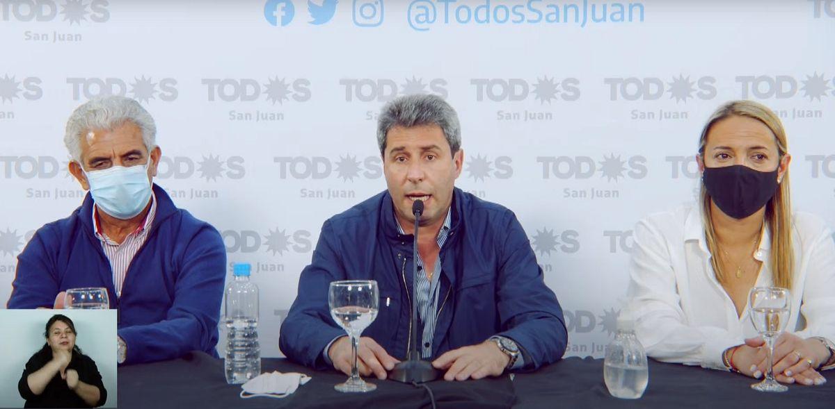 PASO en San Juan: habla el gobernador Uñac tras los comicios