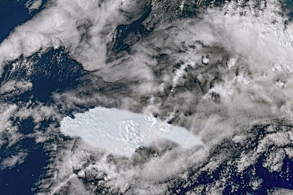 El iceberg más grande del mundo puede causar un desastre