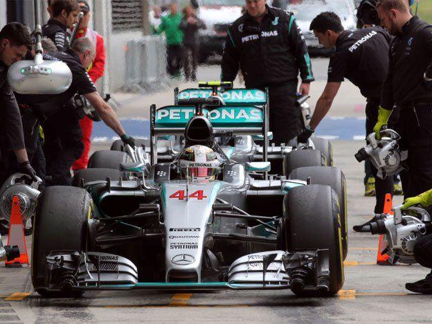 En la Pole, Hamilton se afianza el Gran Premio de Austria de F1