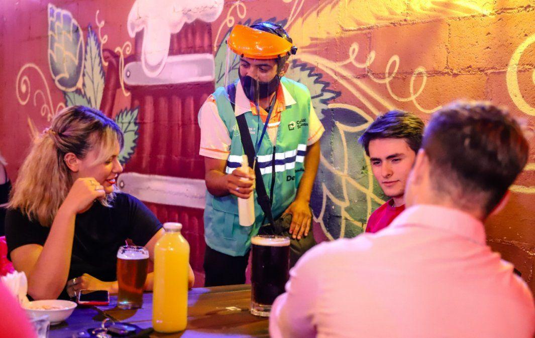 Capital endureció el control en bares y restaurantes por el aumento de casos de COVID-19