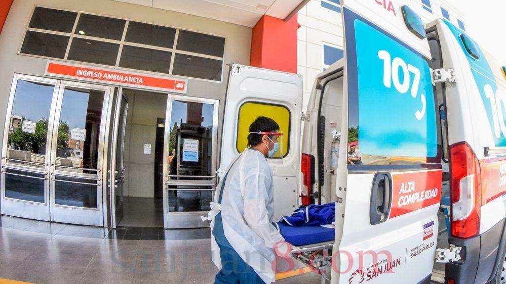Hay 132 pacientes en área COVID-19 y 81 en sector crítico