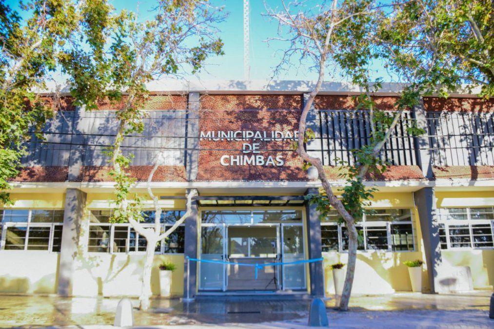 Así quedó la municipalidad de Chimbas