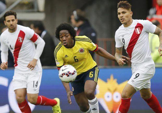 Colombia obtuvo un flojo empate con Perú y puede quedar afuera de la Copa