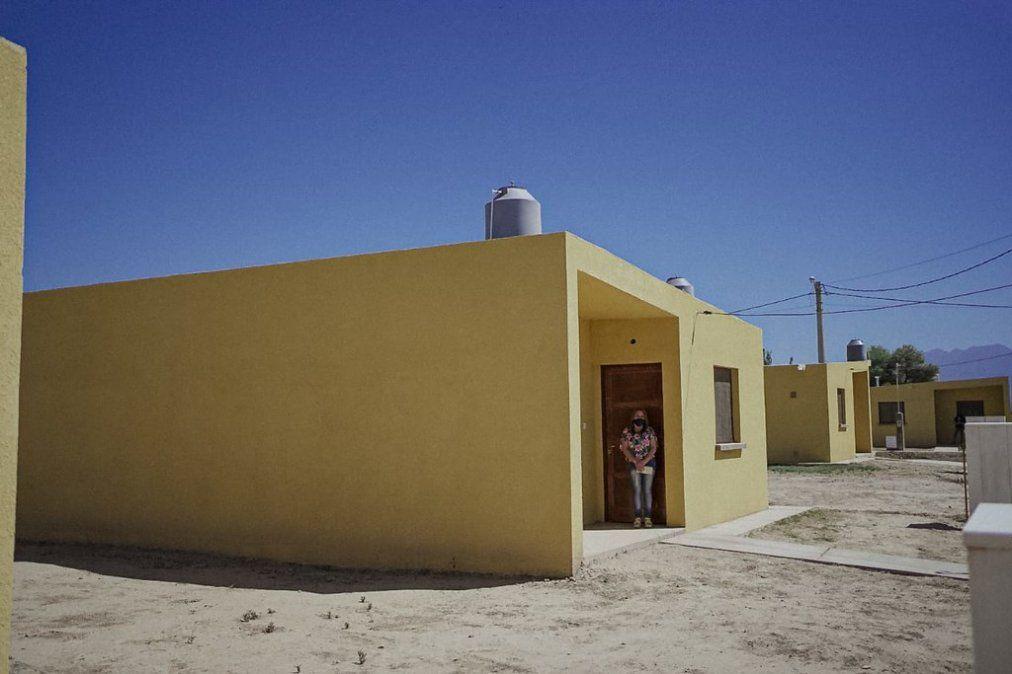 Jáchal: familias de Villa Mercedes cumplieron el sueño de la casa propia