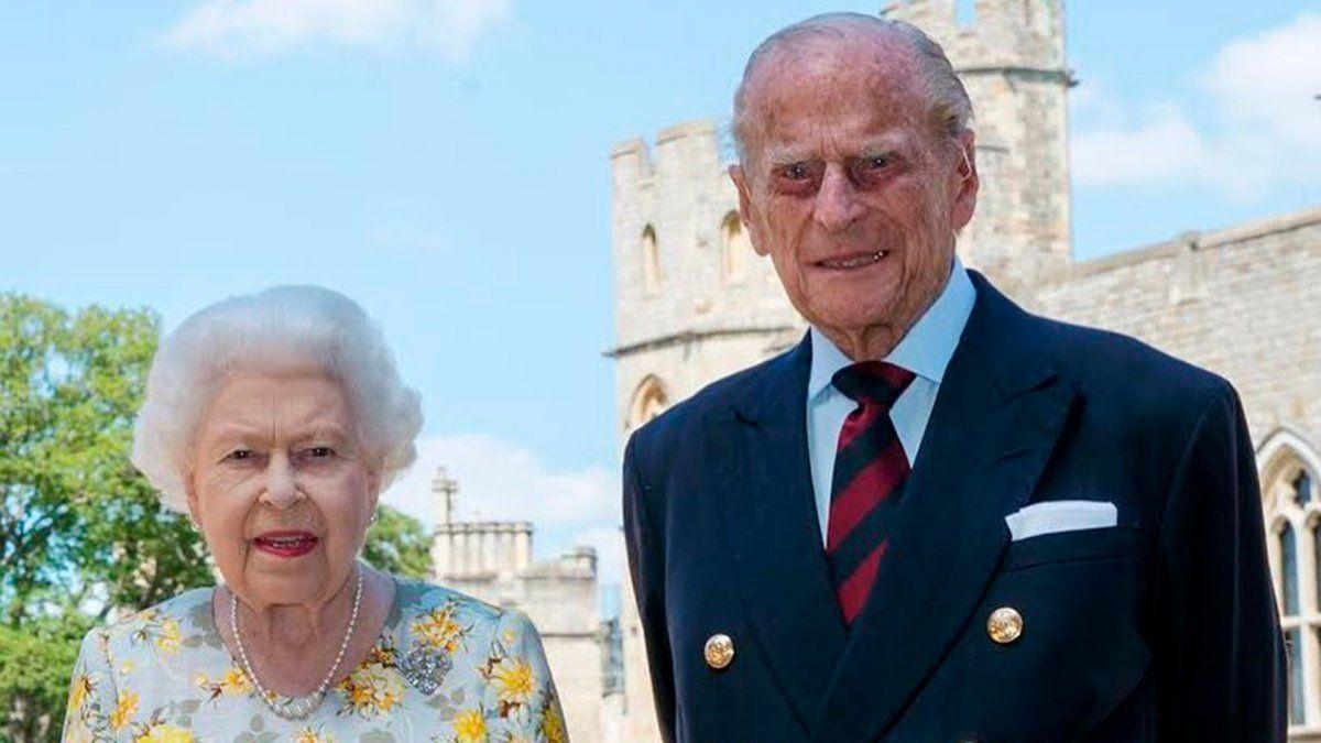 Murió el marido de la reina Isabel II de Reino Unido