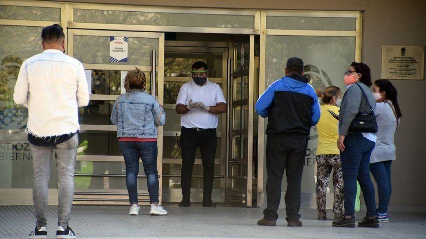 Récord de fallecidos en Mendoza: 10 muertes y casi 600 contagios