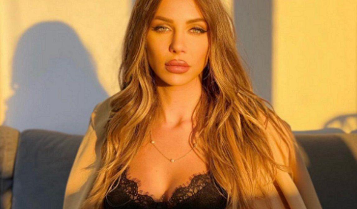 Romina Malaspina se puso un body transparente en Instagram