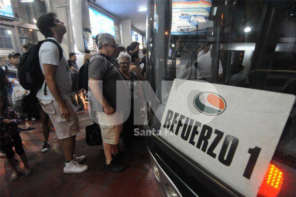Intenso movimiento de viajeros en la primera quincena turística