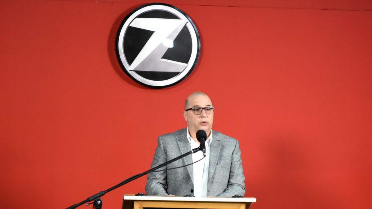 Inauguración del local Zanella en Av. Rawson y Av. Libertador. Foto: Adrián Carrizo.