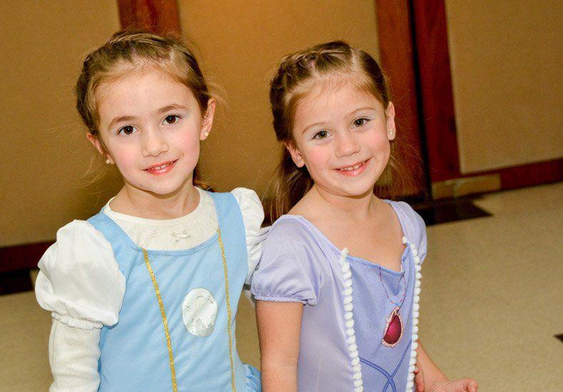 Las princesas coparon el Teatro