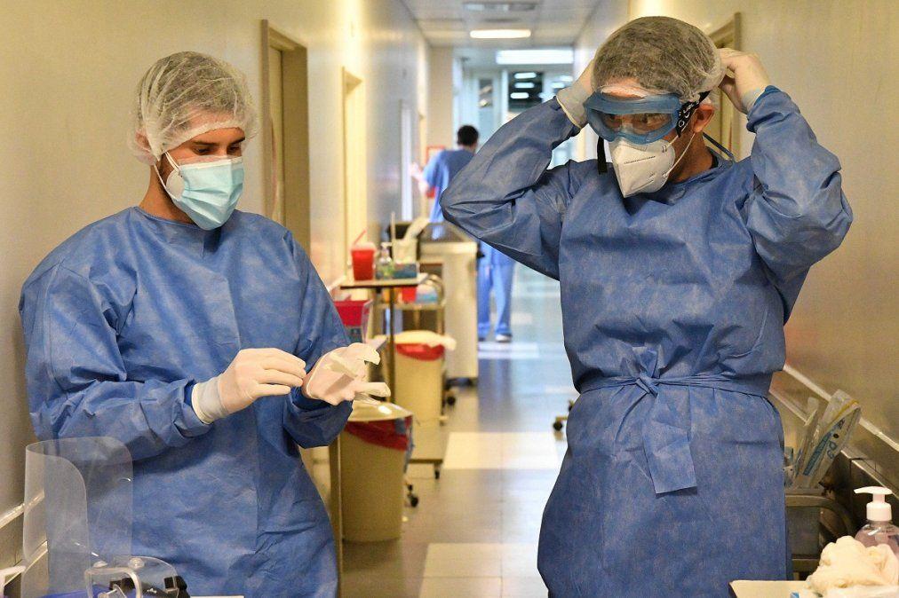 Argentina registró casi 30.000 casos de COVID-19 en un día