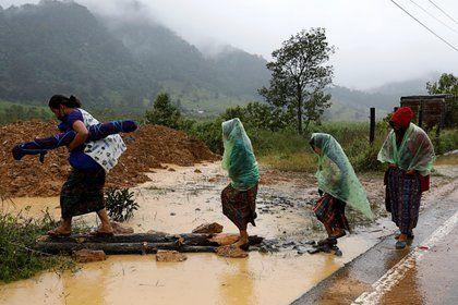 Más de 80.000 afectados y al menos 20 muertos por inundaciones en México ocasionadas por Eta