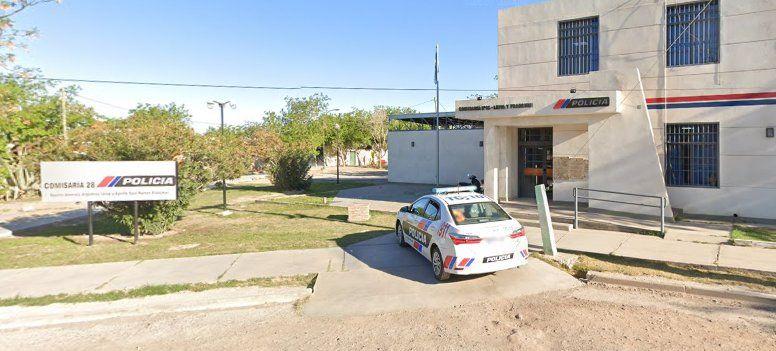 Los detenidos por el robo al Centro de Salud fueron alojados en la Comisaría 28.