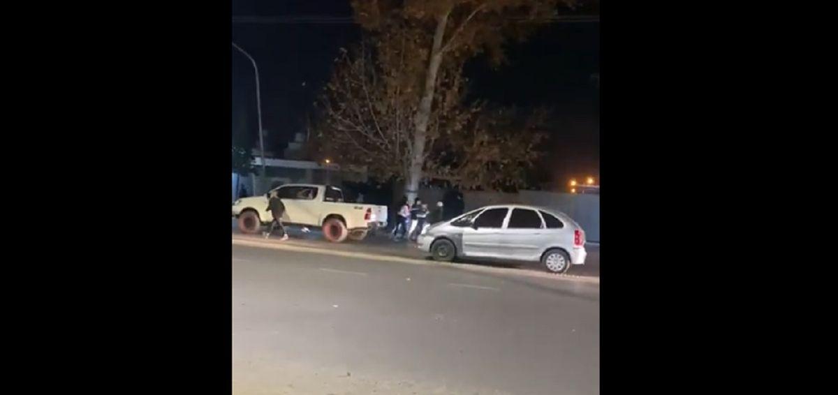 Confuso episodio en Rivadavia: persecución por barrios de la zona