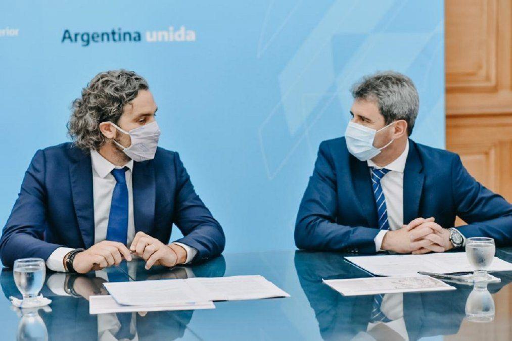 Uñac firmó un convenio para optimizar la conectividad en los departamentos alejados