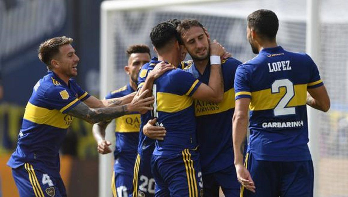 Boca viajó a Brasil con el listado completo para enfrentar a Santos