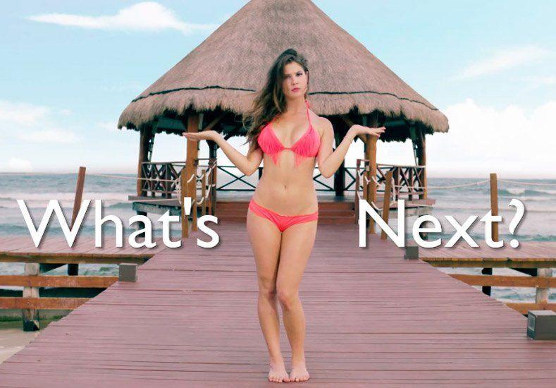 Mirá la evolución de la bikini que con el paso del tiempo cada vez es más chica
