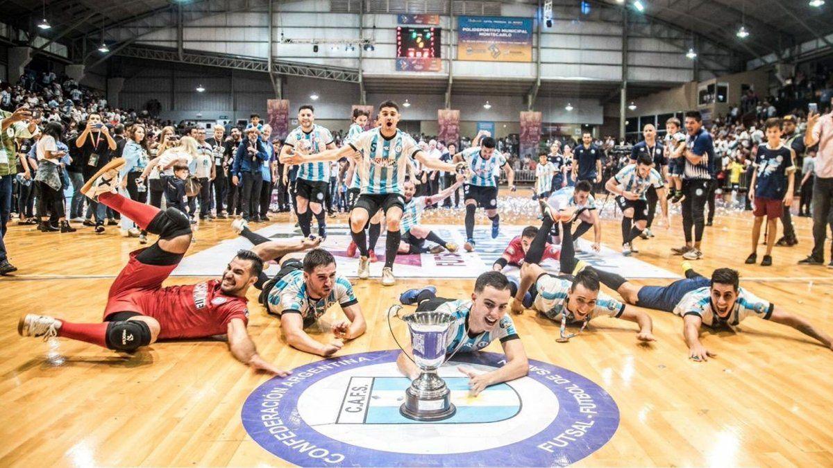 El seleccionado argentino de futsal juega su primer amistoso de la gira