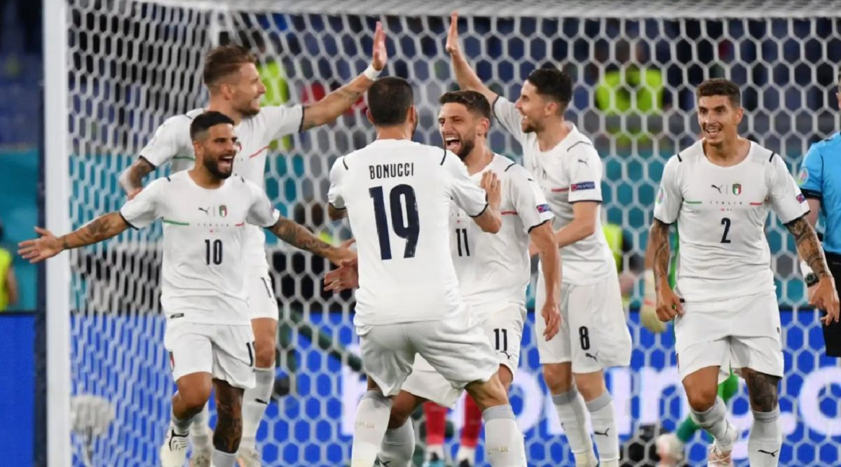 Italia derrotó 3 a 0 a Turquía.