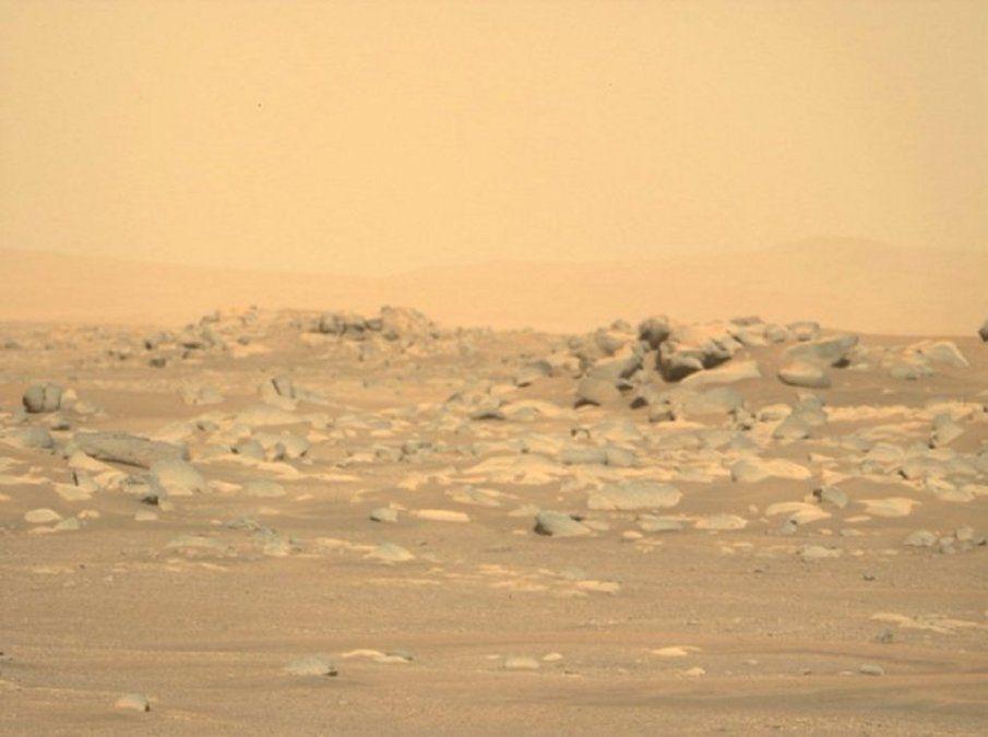 Las inusuales rocas de Marte captadas por el Perseverance