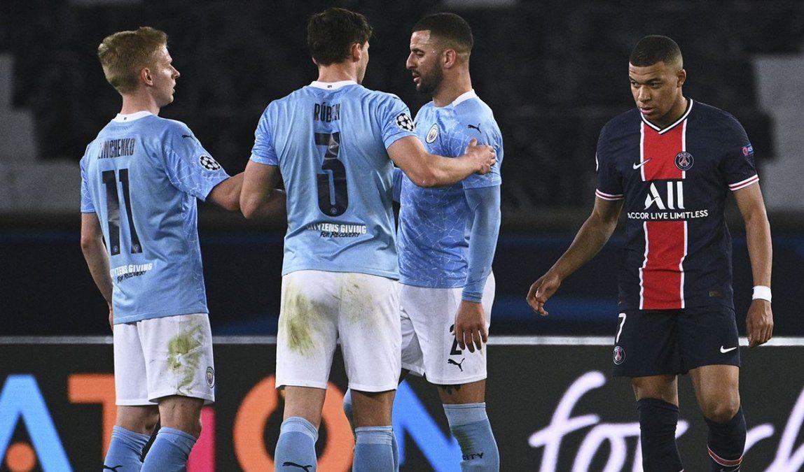 PSG y Manchester City definen el primer pase a la final