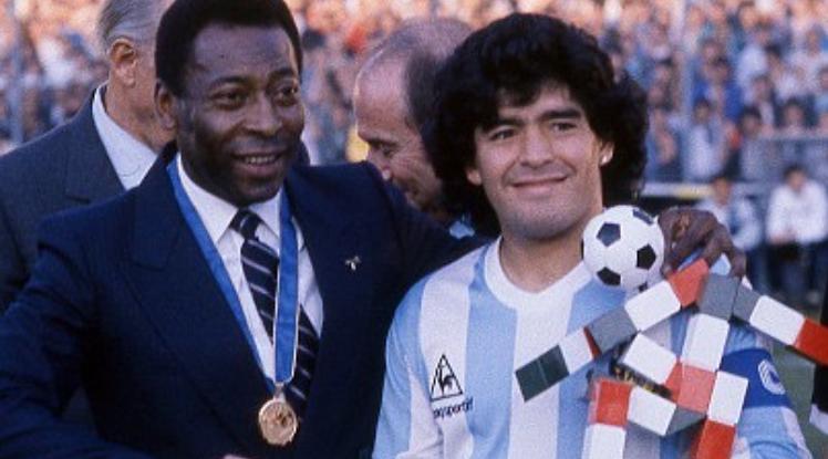 Pelé se acordó de Maradona: Mi gran amigo, siempre te aplaudiré