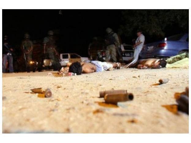 Masacre narco: hallan decapitados a 15 hombres en Acapulco