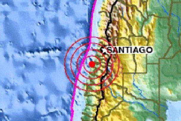Un fuerte sismo sacudió la región chilena de Maule