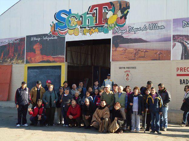 Pequeños productores de Chile visitaron el Mercado Concentrador de Rawson